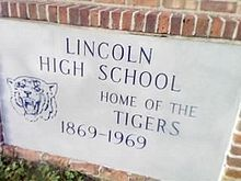 Old Lincoln High School Tallahassee Florida, Lincoln, High School, Grammar School, High Schools, Secondary School, Middle School