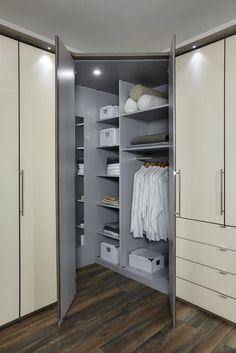 Loft Corner Wardrobe Interior