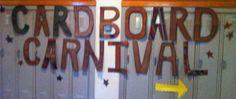 Cardboard Carnival!