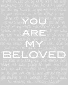 You Are My Beloved Print Henri Nouwen