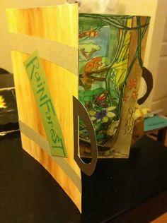 Tunnel books for 5th grade ecosystems