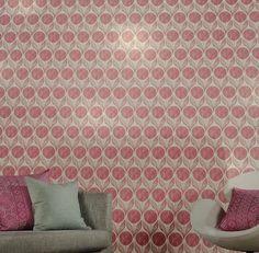 verkkokauppa.seinaruusu.fi Suvi Blossom W375/04 Curtains, Home Decor, Blinds, Decoration Home, Room Decor, Draping, Home Interior Design, Picture Window Treatments, Home Decoration