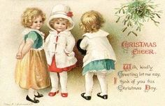 Free Clip Art from Vintage Holiday
