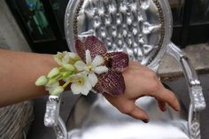 Bracelet fleurs naturelles entièrement cousues de Ame Mie, Contez-Moi fleurette | Foto 13