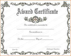 Online Certificates Templates Tyha Nyzam Tnyzam On Pinterest