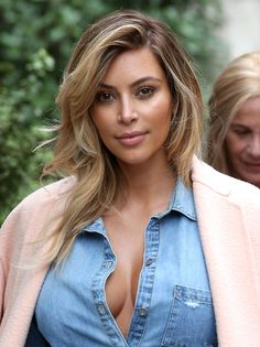 Love this blonde on Kim!