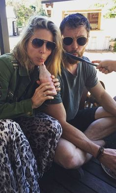 Pin for Later: Fall in Love With Chris Hemsworth and Elsa Pataky's Sweetest Instagram Photos