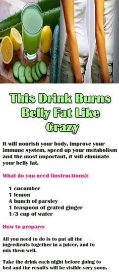 This Drink Burns Belly Fat Like Crazy  Detoxification is of great importance for your complete body since it cleans all the toxins which can be found in the body and thus reduces the excess waste.