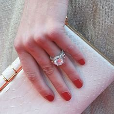 Johnny Depp did well when he picked out wife Amber Heard's round-cut diamond engagement ring. In fact, he liked it so much that he sported the stunner on the red carpet when he announced their engagement!