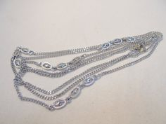 Vintage Flapper Necklace 55 Long 25 Grams STUNNING by KathiJanes