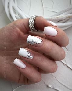 49 Classy & Stylish Short Nail Art Designs - Hair and Beauty eye makeup Ideas To Try - Nail Art Design Ideas Short Nail Manicure, Manicure Nail Designs, Nail Art Designs, Manicure Ideas, Gel Nail, Nail Ideas, Colored Acrylic Nails, Best Acrylic Nails, Chic Nails