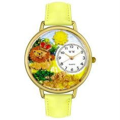 Lion Watch in Gold (Large)