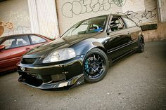 Ryan Der's Honda Civic Hatchback. by RKT Vision, via Flickr