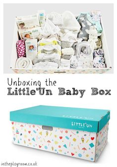 unboxing the little'un baby box, a finnish baby box company available in the UK, with all the baby essentials Baby Gift Box, Diy Baby Gifts, Baby Shower Gifts, Free Baby Items, Free Baby Stuff, Baby Toiletries, Baby Life Hacks, Free Baby Samples, Baby Freebies