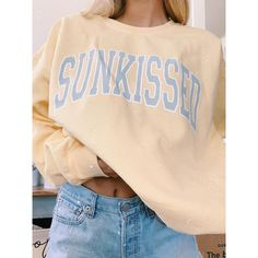 Cute Comfy Outfits, Trendy Outfits, Summer Outfits, Fashion Outfits, Trendy T Shirts, Trendy Clothing, Punk Fashion, Summer Clothes, Cute Sweatshirts