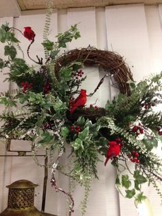 Nice wreath for January and February
