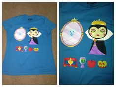 Today On T-Shirt Tuesdays! Disney Evil Queen Tee!