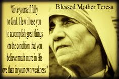 1000+ images about MOTHER TERESA on Pinterest | Mother ...