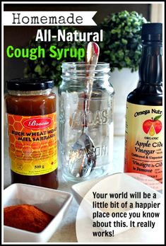 DIY Homemade All-Natural Cough Syrup (The Mom who created this remedy swears it works)