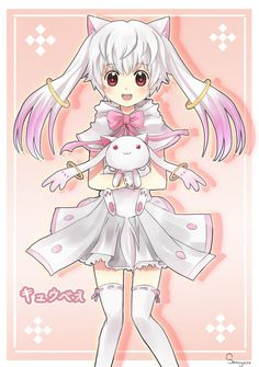 Kyubey is adorable as a genderbent human. Description from funnyjunk.com. I searched for this on bing.com/images