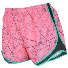 half off cf52a 19ae6 Nike Dri-Fit 3.5 Zig Zag Tempo Short - Womens - Polarized Pink Anthracite