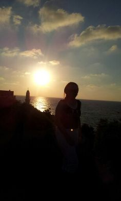 Sunset at Jaffa port