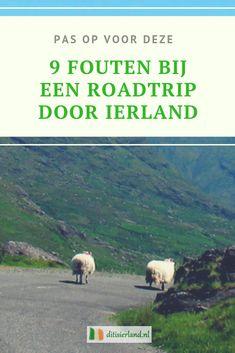 Maak je een rondreis door Ierland? Probeer dan deze 9 fouten niet te maken!  #rondreisierland #ierland #roadtripierland #roadtripireland # Road Trip Ireland, Connemara, Donegal, European History, Round Trip, Scotland, Campers, Dublin, Traveling