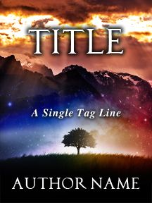 Single Tree in Magical Field - A Magical Fantasy Novel | Customizable Book Cover by RLSather | SelfPubBookCovers: One-of-a-kind premade book covers where Authors can instantly customize and download their covers, and where Artists can post a cover and name their own price.