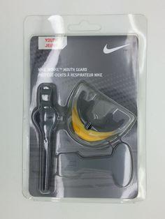 NIKE INTAKE MOUTH GUARD YELLOW/BLACK (YOUTH) -- NEW #Nike