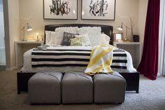 ikea hack bedroom nightstand by Tabitha Blue / Fresh Mommy, via Flickr