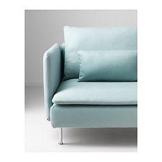 SÖDERHAMN Sofa - Isefall light turquoise - IKEA