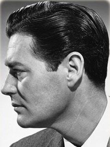 40's men's hair....I'd love I guy who'd wear their hair like this.  Tony probably had hair like this