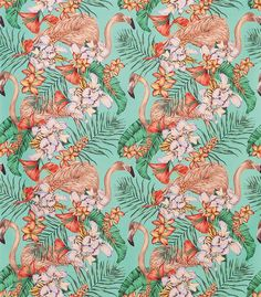 Osborne & Little: F6790-01 Flamingo Club by Matthew Williamson