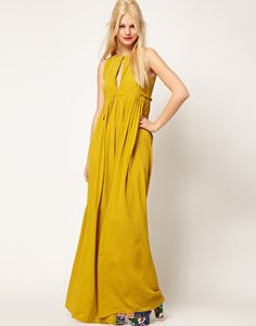 Enlarge ASOS Sleeveless Pleated Maxi Dress
