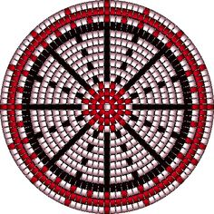Native American Beading Patterns   Beaded Basket Pattern by Lobo1