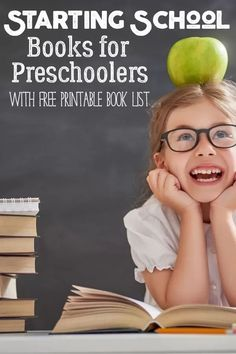 Help ease your preschoolers fears on starting school with this book list of favourites that you can read together and prepare them to start. Preschool Learning Activities, Preschool Books, Play Based Learning, Book Activities, Teaching Ideas, Best Books To Read, Good Books, Kindergarten, Dolch Sight Words