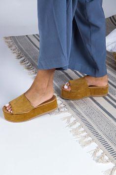 Greek Leather Suede Sandals Platform Wedge Slip On Sandals Gladiator Sandals Outfit, Boho Sandals, Black Wedge Sandals, Greek Sandals, Platform Wedge Sandals, Suede Sandals, Suede Heels, Beautiful Sandals, Leather Wedges
