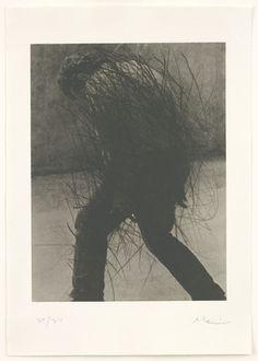Arnulf Rainer. Crooked Departure (Krummer Abgang). (1976)