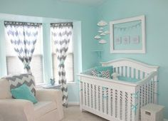 baby boy Nursery | Diary of a Fit Mommy: Nursery Ideas for Boys Chevron and Aqua