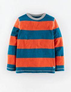 Slubby Stripe T-shirt 21850 Essentials at Boden