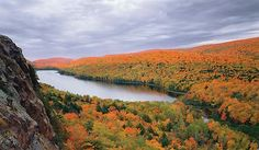 Lake of the Clouds to Summit Peak - Porcupine Mountains Wilderness State Park, MI