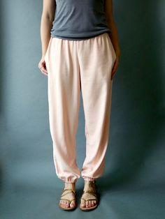 DIY Luna Pants / sewing pattern by made by rae