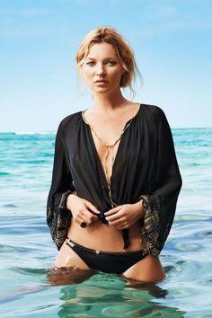 Kate Moss - Harper's Bazaar Magazine Pictorial [United States] (June 2012)