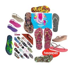 """""""Havaianas addict"""" by symbricole on Polyvore"""