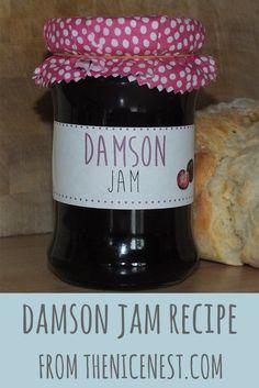 Making Damson Jam – a taste of Autumn – Kolay yemek Tarifleri Plum Jam Recipes, Chutney Recipes, Sweet Recipes, Damson Jam, Recipe Folder, Lemon Cheese, Vegetarian Snacks, How To Make Jam, Jam And Jelly