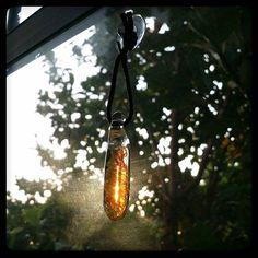 Dat light! Sunrise through a piece of @sweatyglass art.