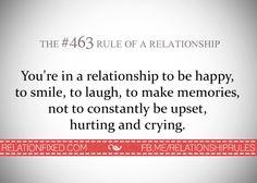 Relationship rule