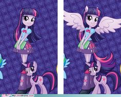 Equestria Girls Looks So Much Better Without the Pony Features | AGREED!