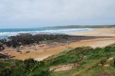 Freshwater West, Pembrokeshire. Site of the Shell Cottage in Harry Potter and the Deathly Hallows