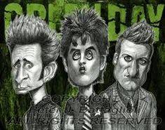 Image result for caricaturen van the muziekgroepen